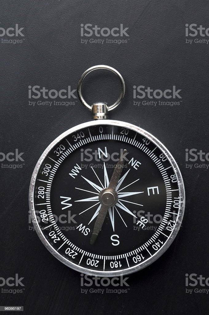 compass - Royalty-free Black Color Stock Photo