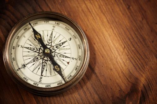Foto de Compass e mais fotos de stock de Amarelo