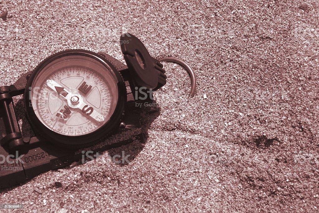 Compass royaltyfri bildbanksbilder