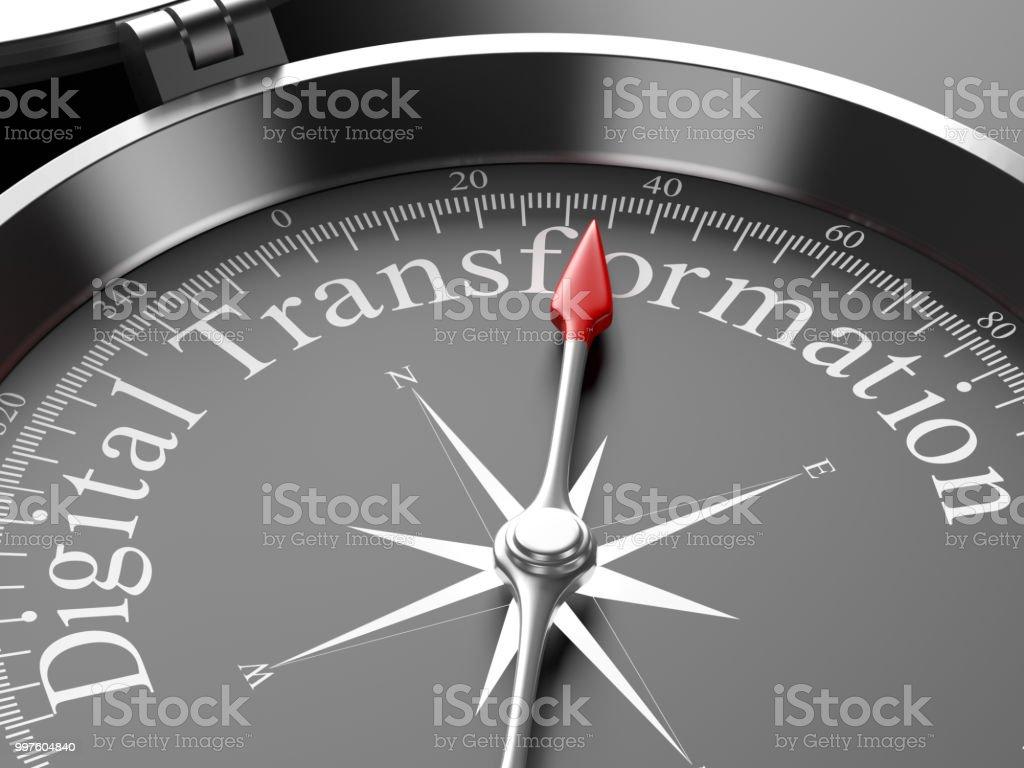 Kompass auf digitale Transformation – Foto