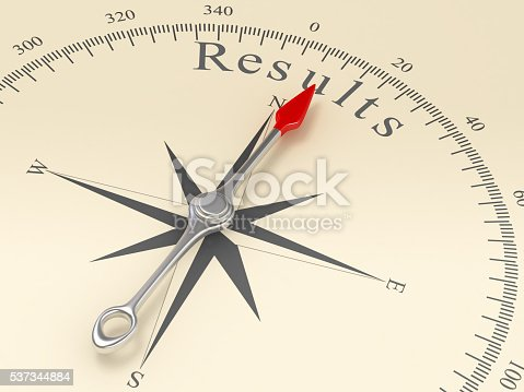 istock Compass Pointing to Results 537344884