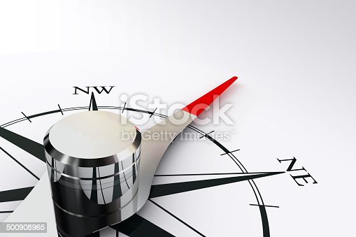 187602778 istock photo compass rose and magnetic needle 500908965