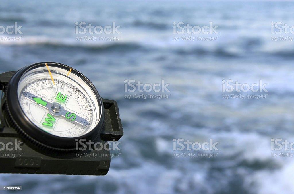 Compass series royaltyfri bildbanksbilder