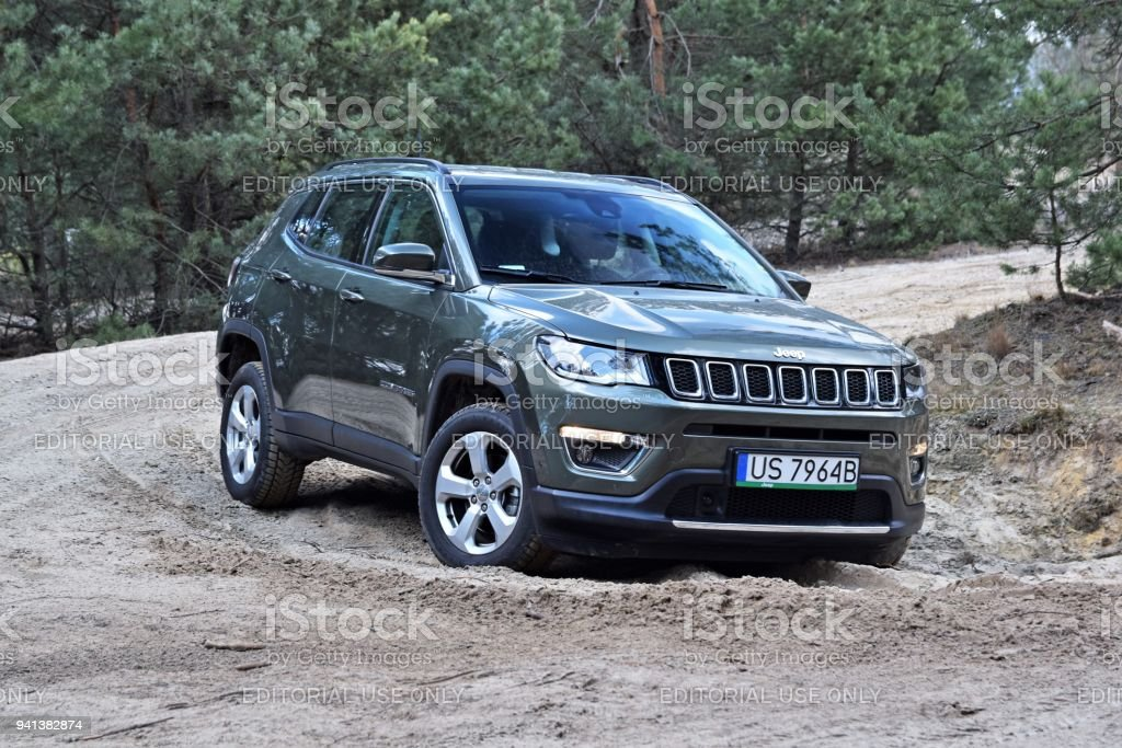 Compass - SUV from Jeep stock photo