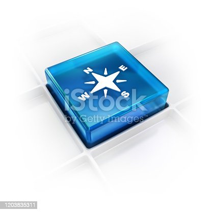 187602778 istock photo compass with directions glossy 3D icon 1203835311