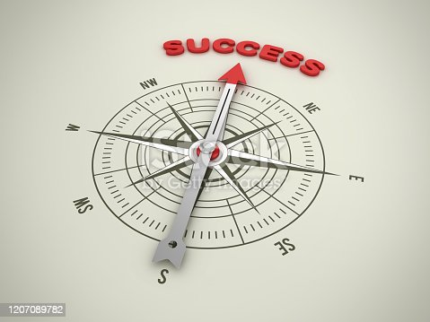 859525326 istock photo Compass with MISSION Word - 3D Rendering 1207089782