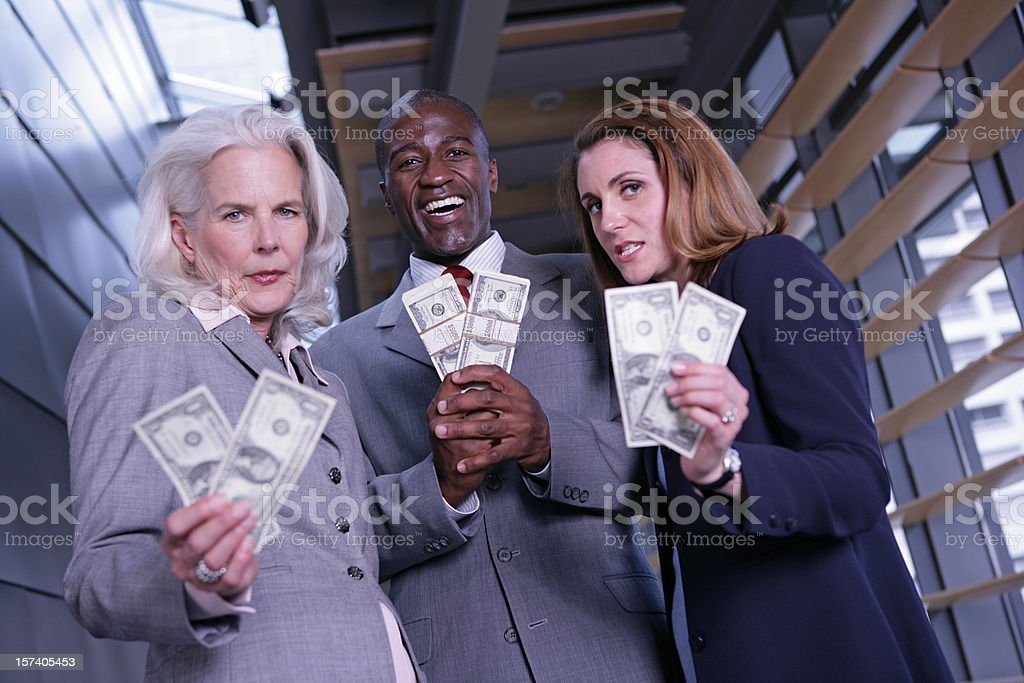Compensational Inequities in the Workplace royalty-free stock photo