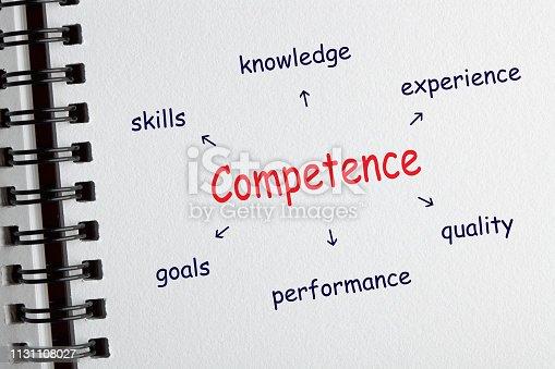 865186916 istock photo Competence Diagram Concept 1131108027