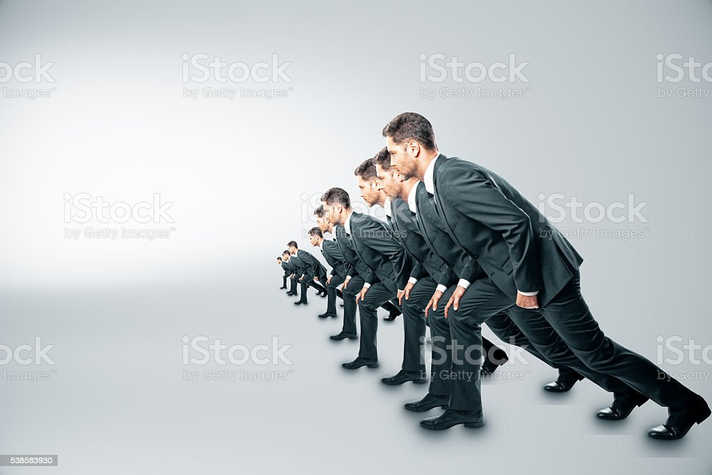 Competition concept stock photo