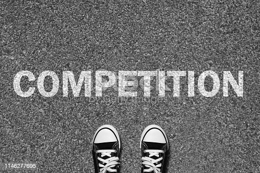 Competition enter start freedom journey