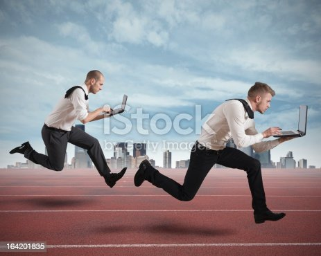 istock Competition in business 164201835