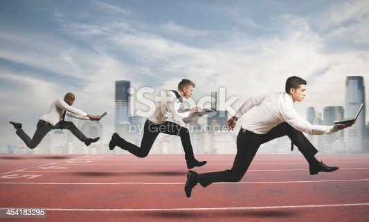 istock Competition in business 454183295