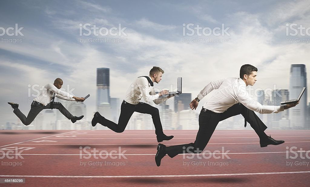 Competition in business stock photo