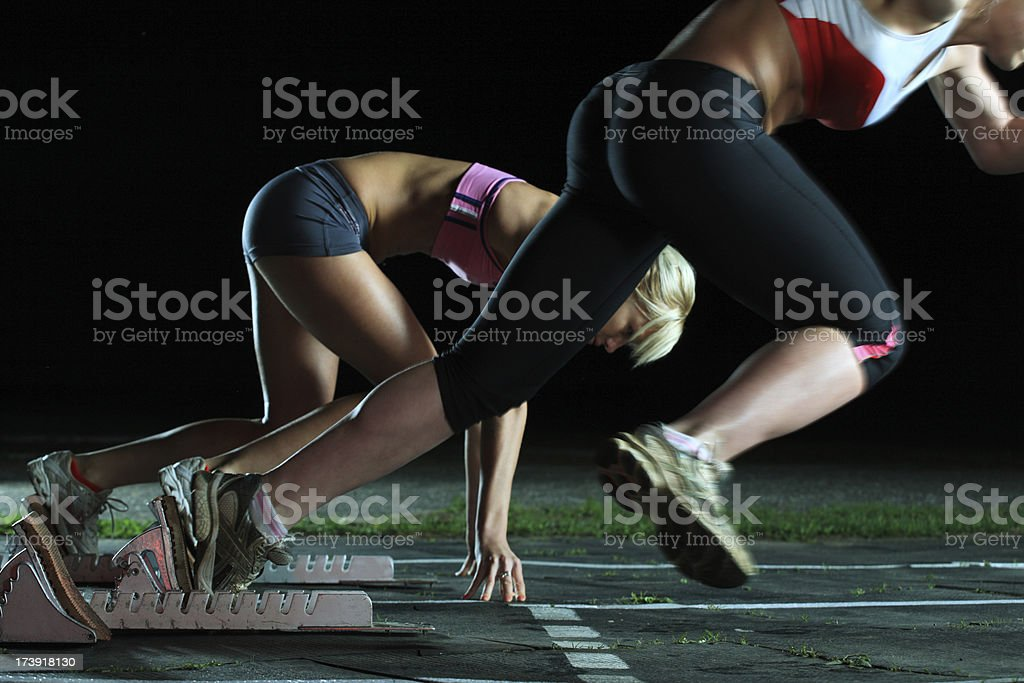 competition in the race royalty-free stock photo