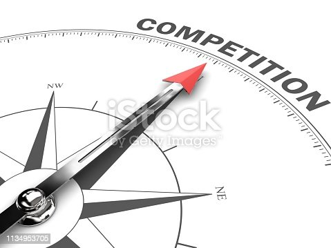 Competition leadership compass business target goal direction