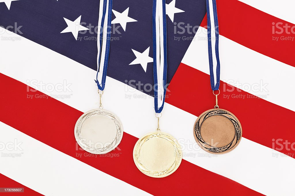 US competition royalty-free stock photo