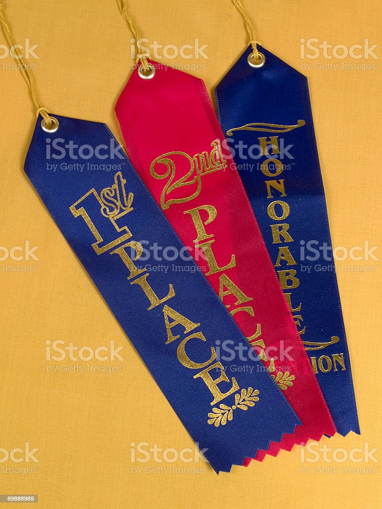 Nastri di concorrenza foto stock royalty-free