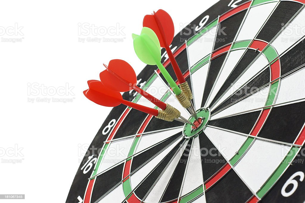 Competition Target royalty-free stock photo