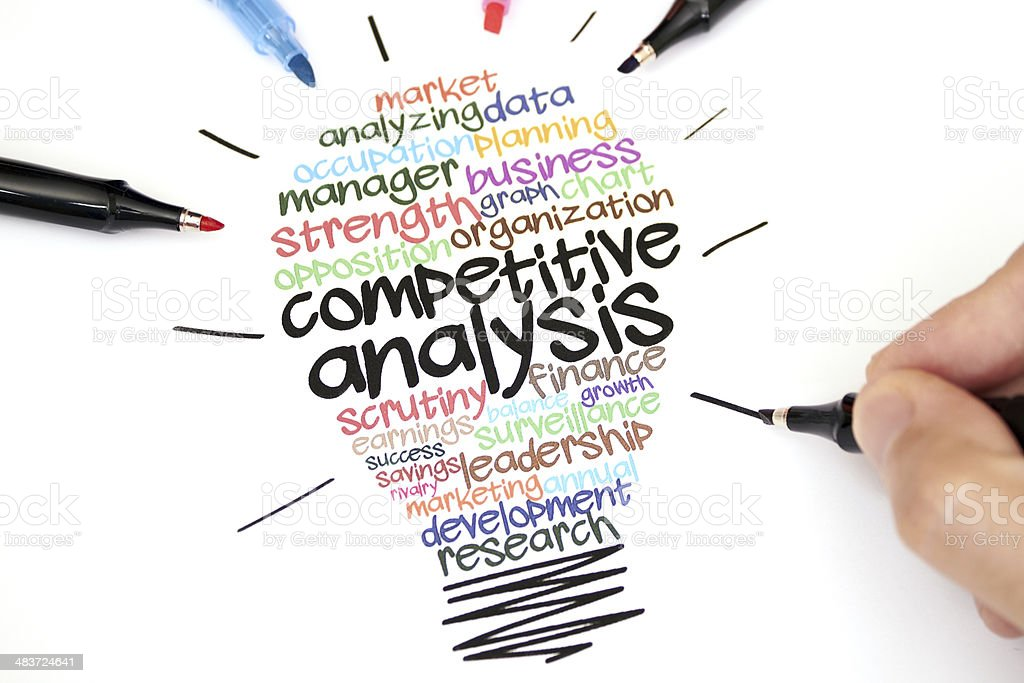 Competitive Analysis royalty-free stock photo