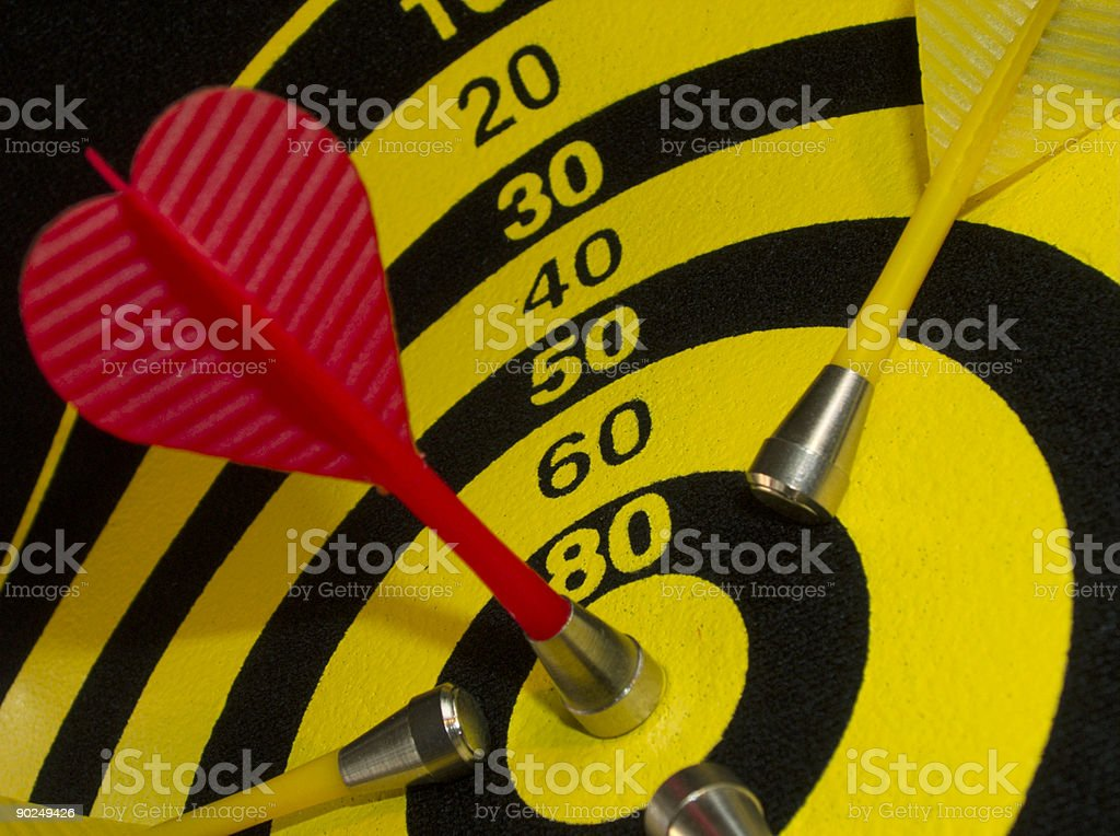 Competitive strike. royalty-free stock photo