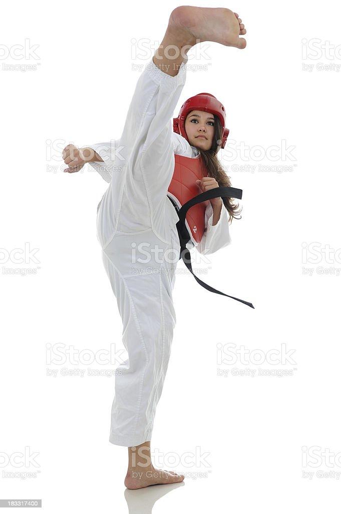 Wettbewerbsfähige TKD Athleten – Foto
