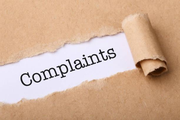 Complaints Concept stock photo