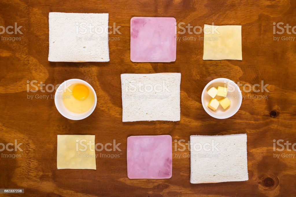 Knolling Mixto Completo foto stock royalty-free