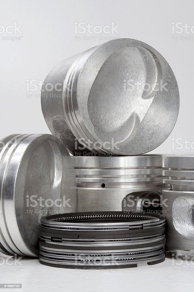 complete set of pistons royalty-free stock photo