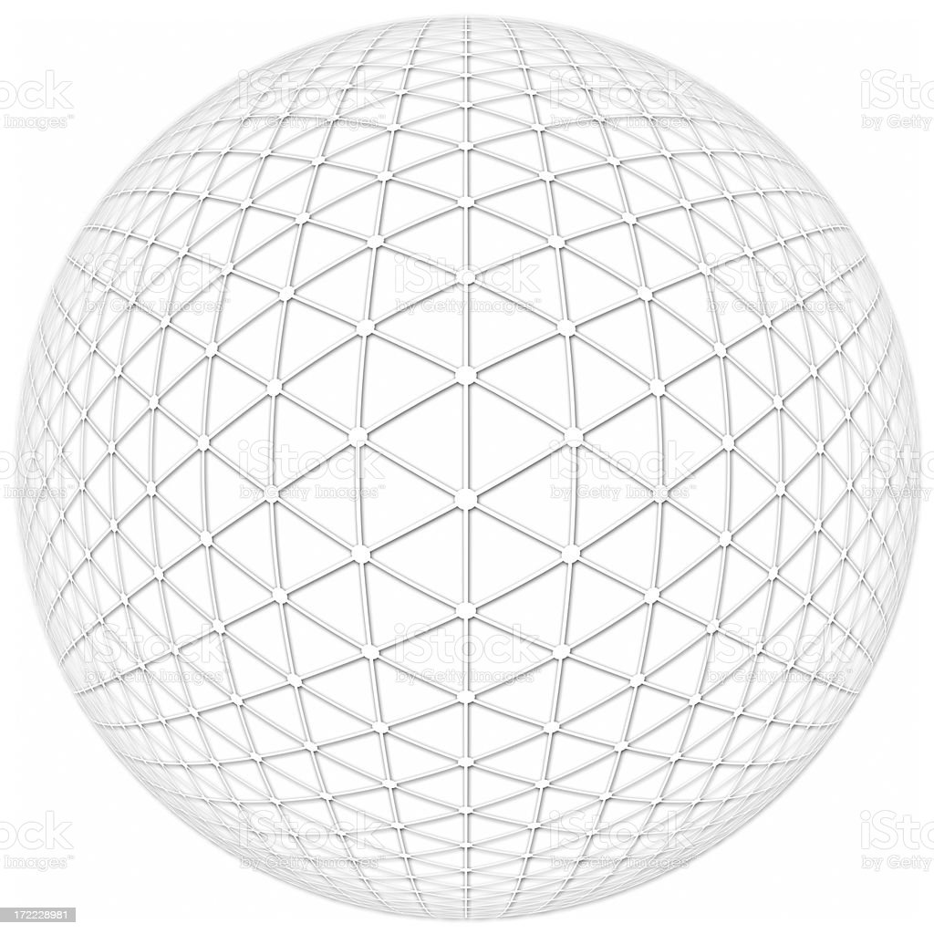 Complete Sphere royalty-free stock photo