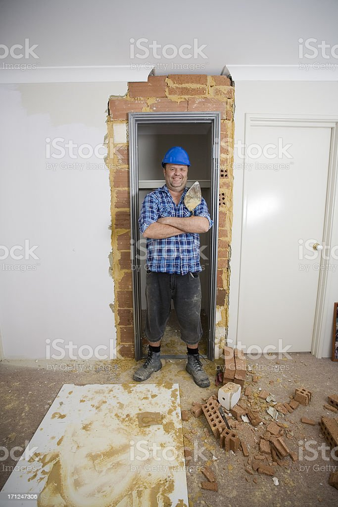 Completed Construction royalty-free stock photo