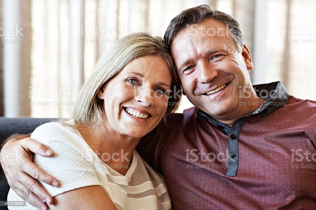 Completely content stock photo