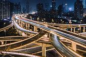 Complex Interchange in Shanghai