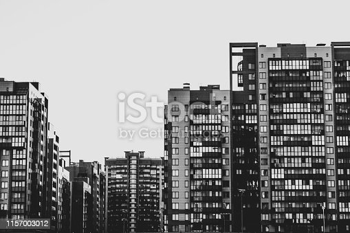 949087660 istock photo Complex of apartment residential buildings 1157003012