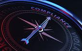 Compliance Concept: Arrow of A Compass Compliance Text