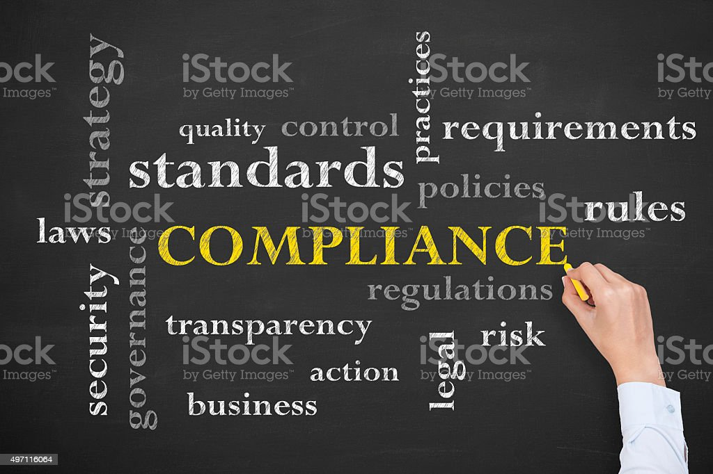 Compliance Concept stock photo