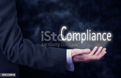 istock Compliance Concept 835228848