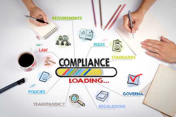 Compliance Concept. The meeting at the white office table Compliance Concept. The meeting at the white office table obedience stock pictures, royalty-free photos & images