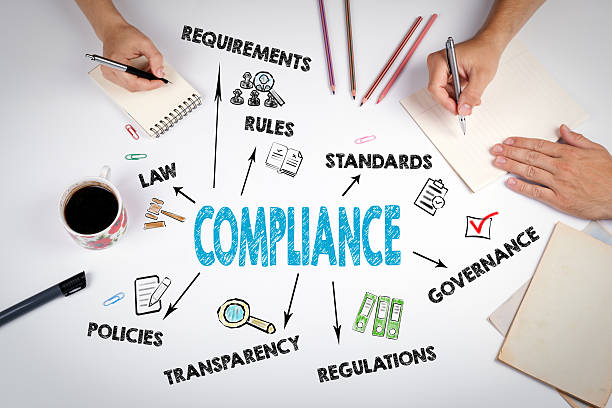 Compliance Concept. The meeting Compliance Concept. The meeting at the white office table obedience stock pictures, royalty-free photos & images