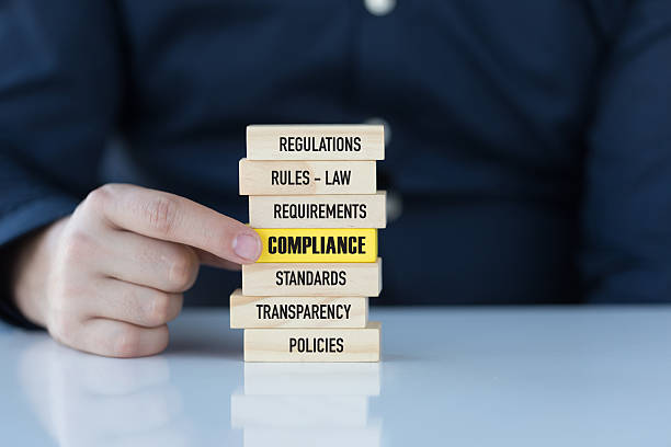 compliance concept with related keywords - permit stock photos and pictures
