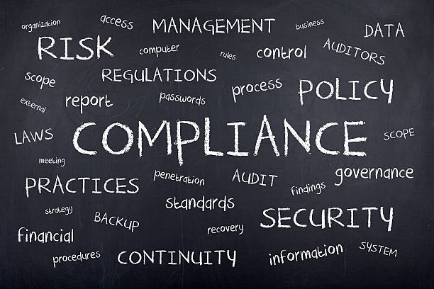 Compliance stock photo