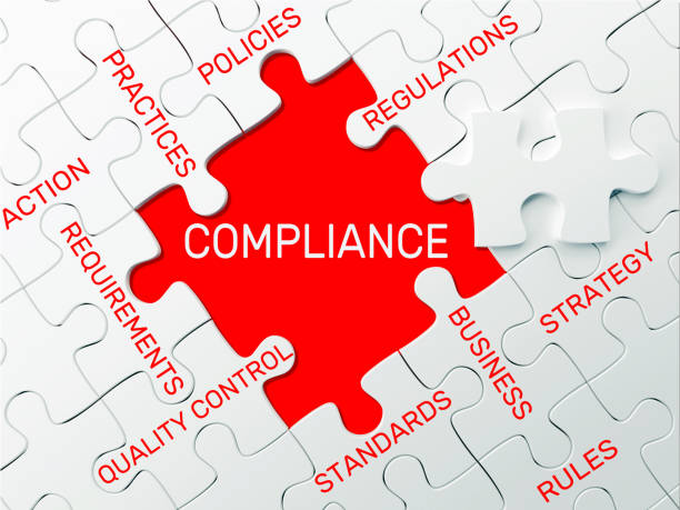 Compliance - Puzzle concept Compliance - Puzzle concept obedience stock pictures, royalty-free photos & images