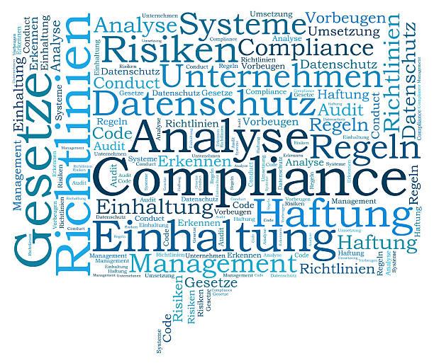 Compliance word cloud – Foto