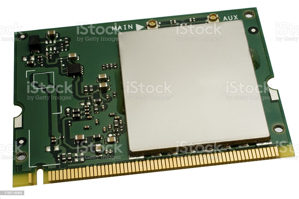 Wlan Component One Stock Photo - Download Image Now - iStock