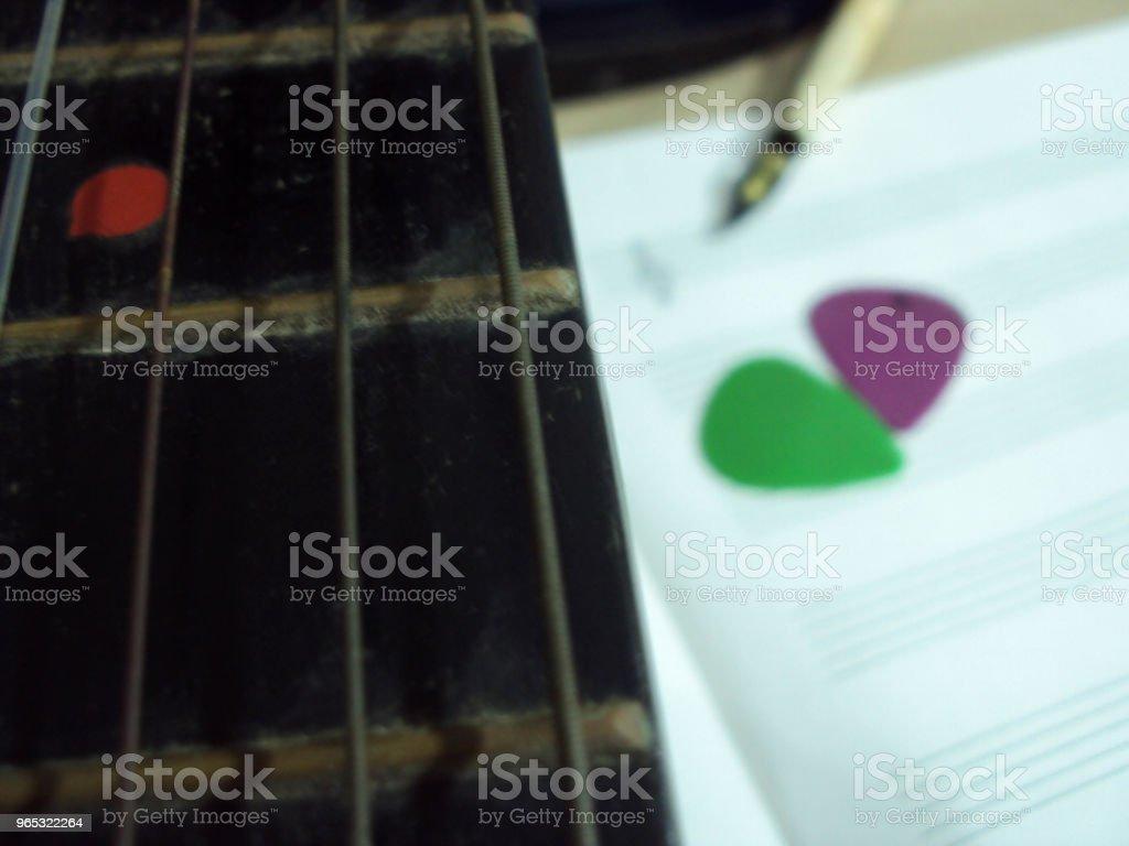 componiendo musica royalty-free stock photo