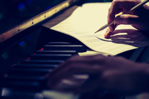 Composer of Music Composer of Music sheet music stock pictures, royalty-free photos & images