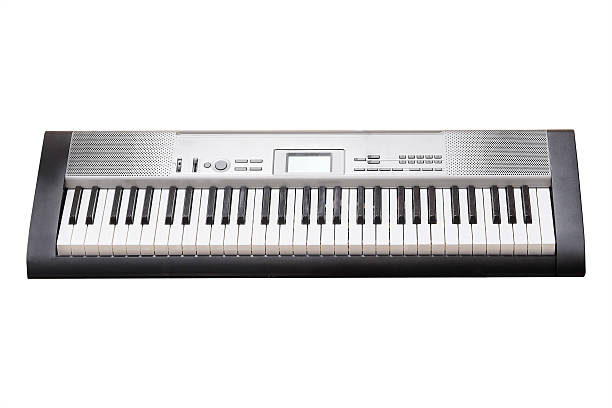 composer composer isolated under the white background keyboard player stock pictures, royalty-free photos & images