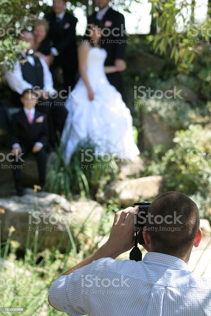 Composing the Shot stock photo