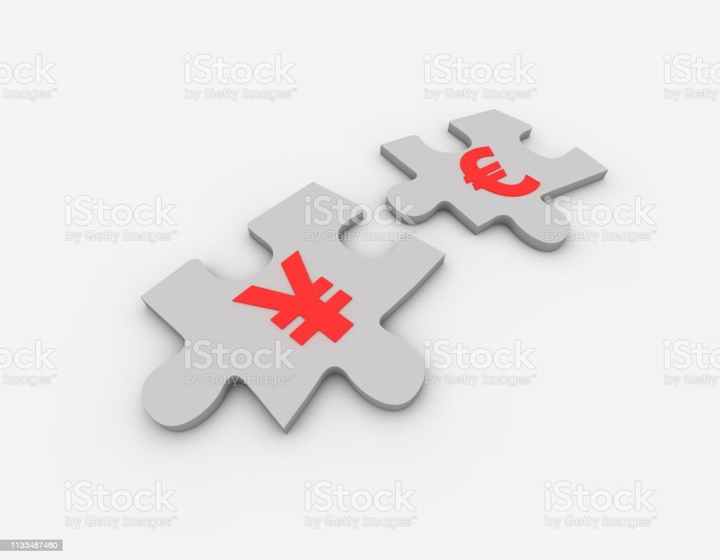 3D composite illustrations, It represents financial cooperation and...