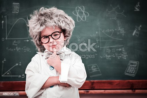 istock Composite image of math and science doodles 486205734