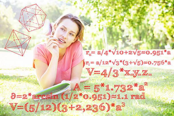 Imagem composta de cálculo de problemas - foto de acervo